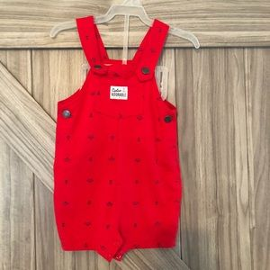 Baby boy Captain Adorable Overall Romper